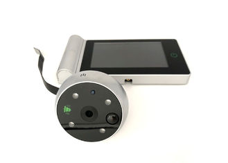 Touch Key 2.4GHz Digital Door Eye Viewer HD 4.3in TFT LCD Wireless Recordable